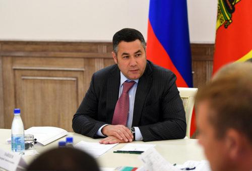 Игорь Руденя по итогам августа занял 3-е место в медиарейтинге губернаторов ЦФО