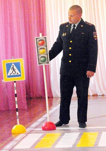 Дошкольники изучали Правила дорожного движения