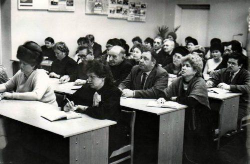 Светлана КОНДРАТЬЕВА. Имя в истории Старицкой районной комсомольской организации