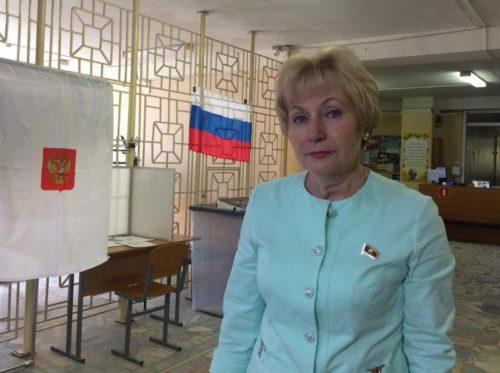 Наталья Павлюк: «Люди приходят на избирательные участки с хорошим настроением»