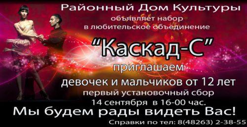 Районный Дом культуры приглашает в кружки и любительские объединения