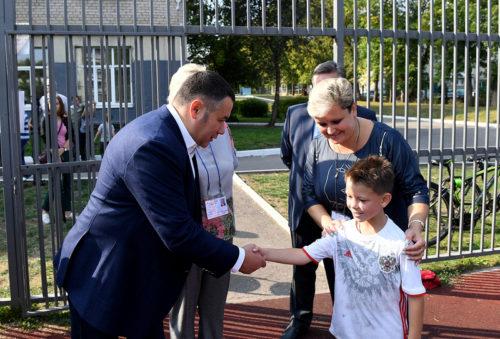 Игорь Руденя ознакомился с работой избирательных участков в Твери