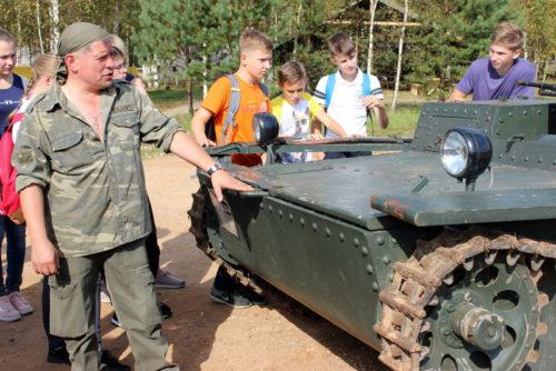 Новоямские школьники прошли «Дорогами Победы»