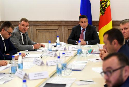 Ход ремонтной кампании на дорогах Тверской области обсудили на совещании в региональном Правительстве