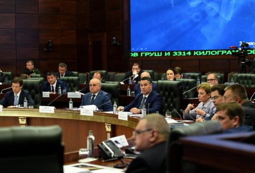 Игорь Руденя на заседании Государственной комиссии озвучил предложения по повышению эффективности борьбы с некачественной продукцией