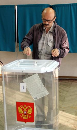 В Старицком районе началось голосование