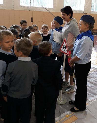 «Юный пешеход» отправился в школу