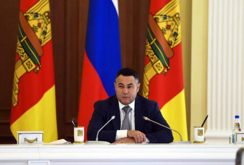 Игорь Руденя отмечен в «Губернаторской повестке» с задачей по увеличению федеральных субсидий для Тверской области