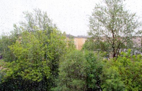 В воскресенье возможен сильный дождь