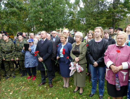 В Бернове открыт памятник императору Всероссийскому Александру II
