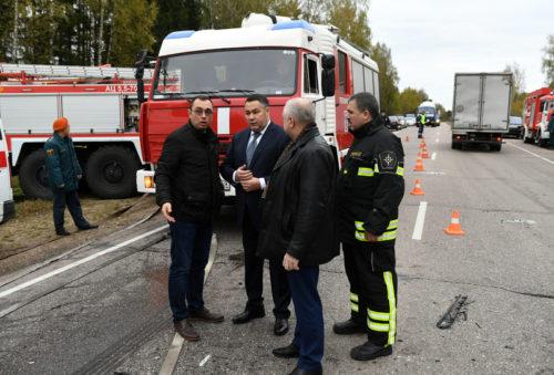 Игорь Руденя: пострадавшим в ДТП под Тверью и семьям погибших будет оказана вся необходимая помощь