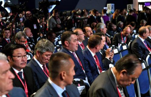 Губернатор Игорь Руденя принимает участие в пленарном заседании Международного форума «Российская энергетическая неделя»