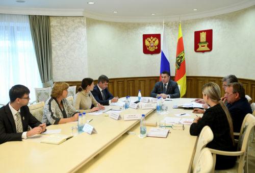 В региональном Правительстве обсудили стратегию развития Тверской области