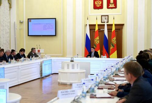 Губернатор Игорь Руденя: основой для госпрограммы по здравоохранению Тверской должны быть приоритеты, обозначенные в указе Президента Владимира Путина