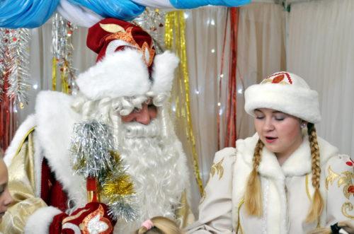 В районном Доме культуры отметили День рождения Деда Мороза