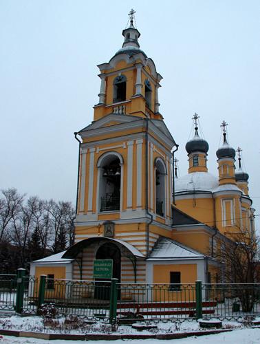 Ильинский храм. Декабрь