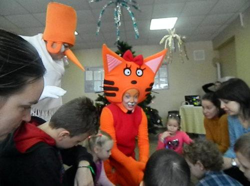 В районном Доме культуры наступил «Карамельный Новый год»