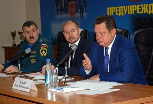 В Тверской области подведены итоги работы территориальной подсистемы РСЧС в 2018 году