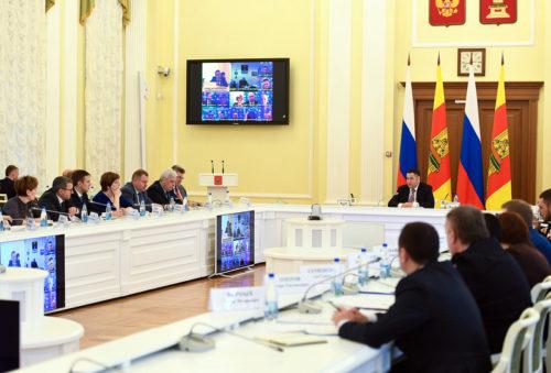 В Правительстве Тверской области обсудили обеспечение мер безопасности в период новогодних и рождественских праздников