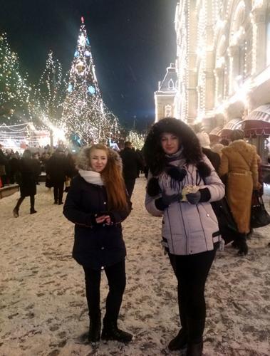Мы увидели новогоднюю Москву своими глазами!