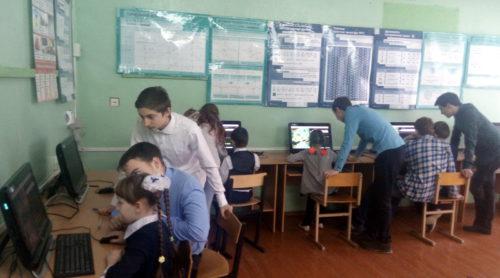 Урок Цифры прошёл в Красновской школе