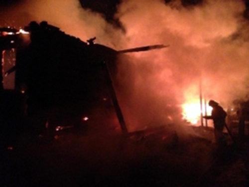 В Луковникове горел жилой дом, есть пострадавшие