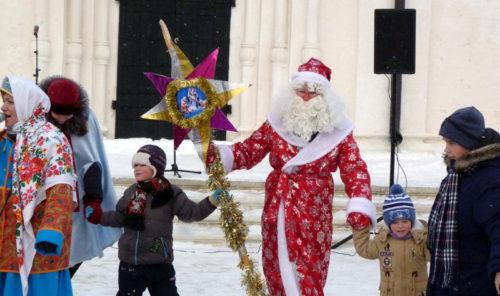 Нам приносит Рождество счастье мир и волшебство!