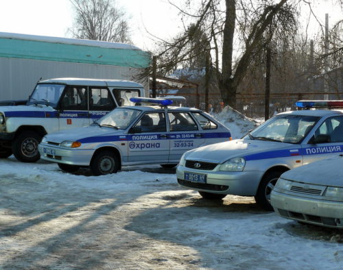 Сотрудники полиции задержали подозреваемого в краже