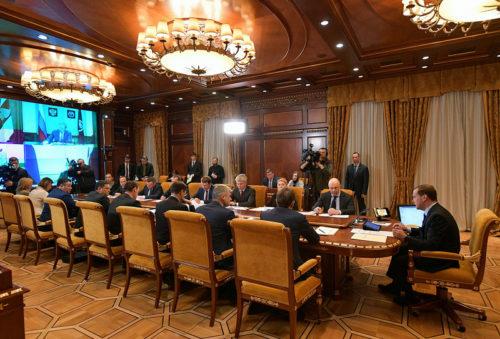 Предложения Игоря Рудени поддержаны на совещании о программе развития сельских территорий у премьер-министра России Дмитрия Медведева