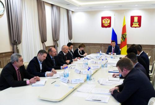Игорь Руденя провёл совещание о строительстве образовательных учреждений в Тверской области