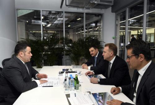 В Москве прошла рабочая встреча Губернатора Игоря Рудени и Председателя ВЭБ.РФ Игоря Шувалова