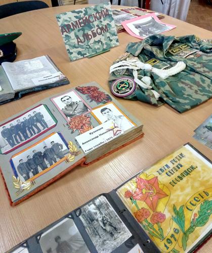 Библиотека открыла «Армейский альбом»