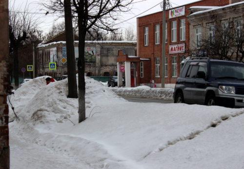 И вновь об уборке снега