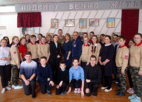 Берновские школьник знакомились с работой историко-поисковой экспедиции