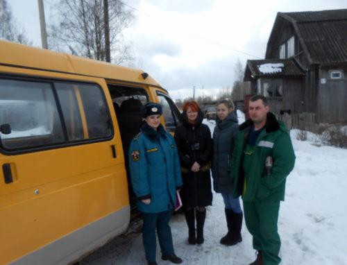 На территории Старицкого района активно проходят профилактические противопожарные мероприятия