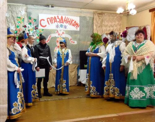 Весенние праздники в Рясне
