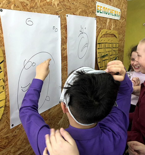 Новоямские школьники состязались в ловкости, сноровке и сообразительности