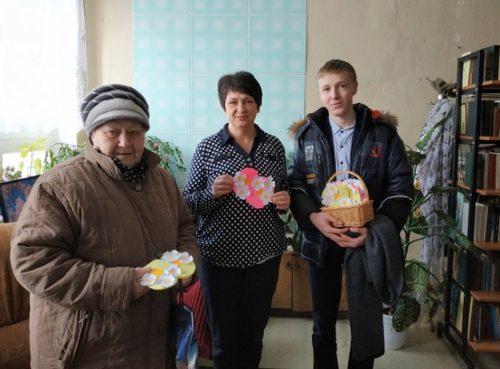 В средней школе станции Старица весну встретили празднично