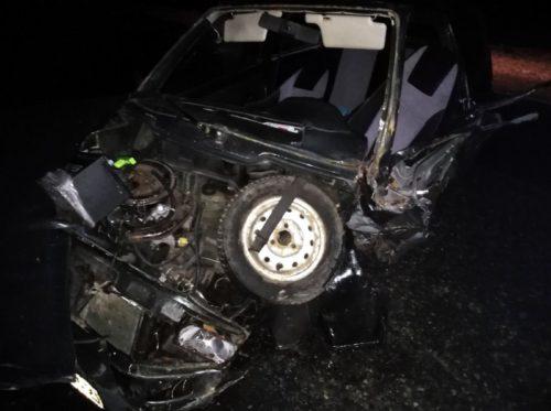 В ДТП пострадал водитель ВАЗа