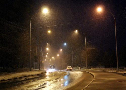 Ветер, снег и гололедица
