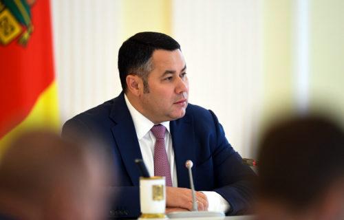Игорь Руденя занял 3-е место в медиарейтинге губернаторов ЦФО за март