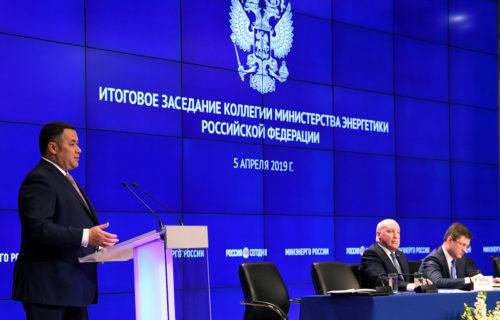 Игорь Руденя возглавил рейтинг «Губернаторская повестка» с предложением не поднимать тарифы на электроэнергию выше уровня инфляции