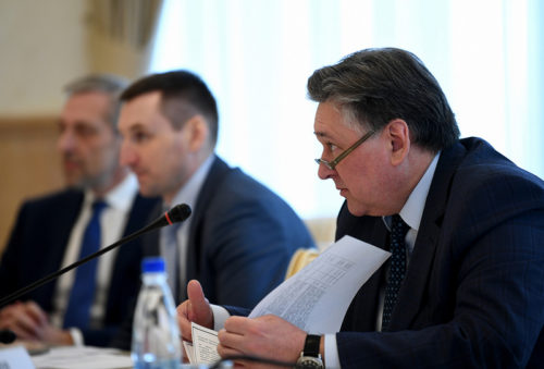 Губернатор Игорь Руденя: задача - создать современную единую систему общественного транспорта
