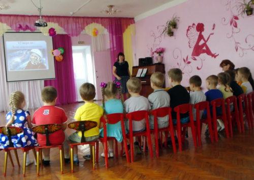 В детском саду №4 прошла Неделя космонавтики