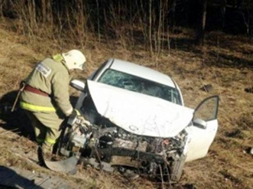 В аварии - трое пострадавших