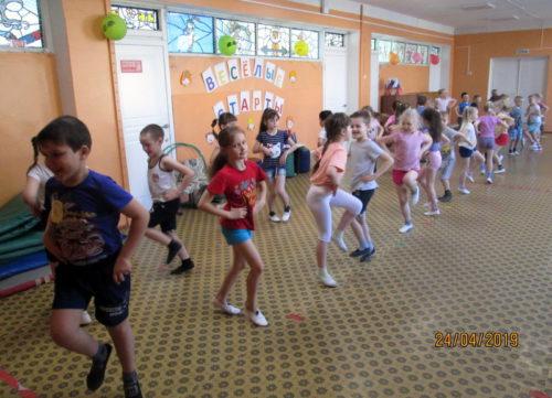 В детском саду №3 прошли «Весенние весёлые старты»