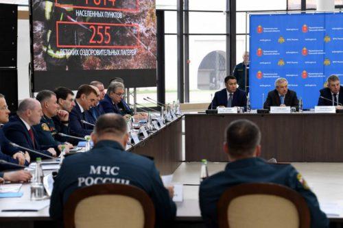 Игорь Руденя принимает участие в совместном заседании Совета при полномочном представителе Президента РФ в ЦФО и коллегии МЧС России
