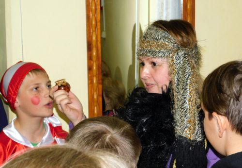 Юные старичане искали золотой ключик
