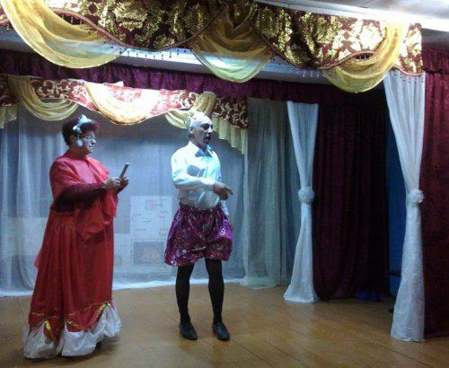 На Первомай в Бабине гостила Золушка