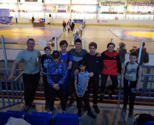 Старицкие борцы на Всероссийском турнире вошли в пятёрку сильнейших